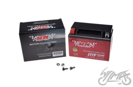 Akumulator WM MOTOR - YTX9-BS GEL