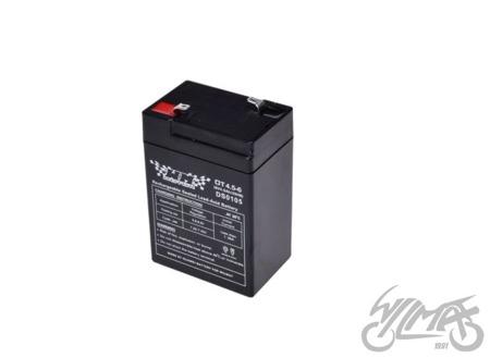 Akumulator żelowy 4,5AH WM MOTOR 6V