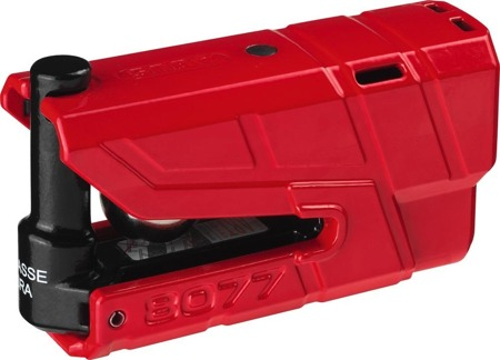 Blokada tarczy hamulcowej GRANIT Detecto X-Plus 8077 red