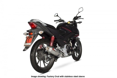Honda CB 125 F 15/17 Factory Oval Full System TYTAN EHA171TEO