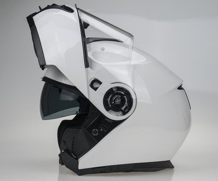 Kask szczękowy NAXA FO4 C biały - PINLOCK