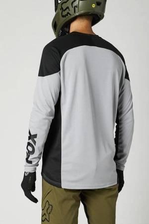 Koszulka rowerowa z długim rękawem FOX DEFEND /steel grey/