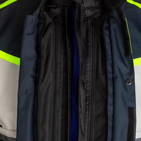 Kurtka tekstylna RST MAVERICK CE blue/silver/neon (2361)