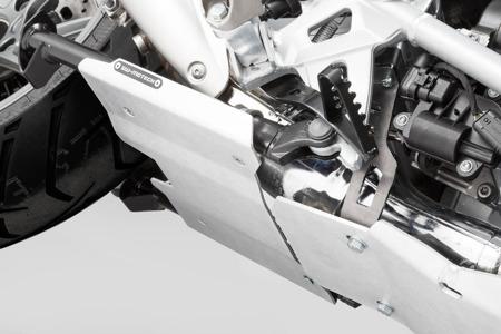 Przedłużenie osłony silnika na stopke CENTRALNĄ, BMW R1200GS LC/ADV/RALLYE, R1250GS, black