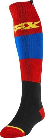 Skarpety FOX FRI THIN LINC blue/red