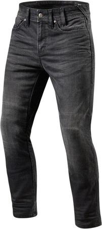Spodnie jeansowe REV'IT Brentwood SF krótkie ciemnoszare