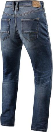 Spodnie jeansowe REV'IT Brentwood SF niebieskie
