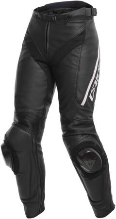 Spodnie skórzane DAINESE DELTA 3 LADY czarne