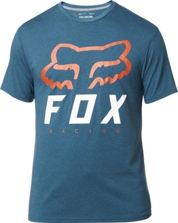 T-SHIRT FOX HERITAGE FORGER TECH HEATHER MAUI BLUE