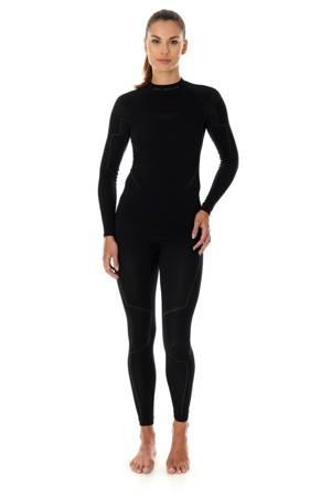 Termoaktywna koszulka damska BRUBECK THERMO czarna