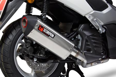 Yamaha N-Max 125 15/17 Serket Full System Stal Nierdzewna RYA104SEO
